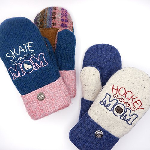 mittens for sports moms